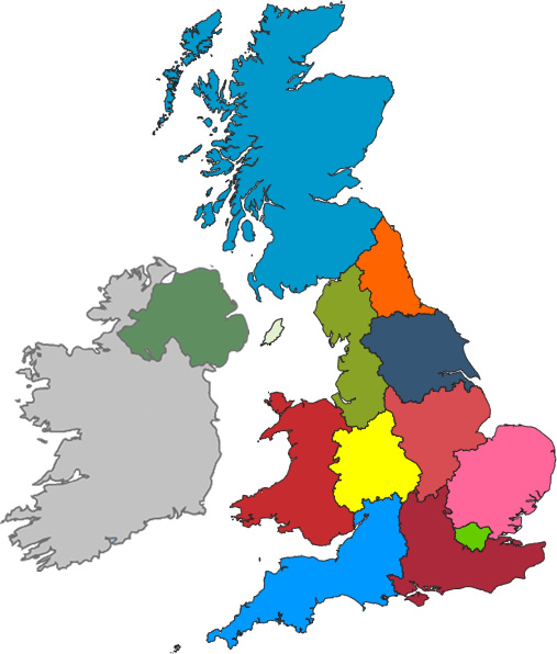 UK Map Image