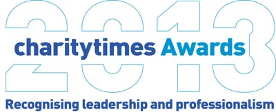 Logo of the Charity Times Awards 2013