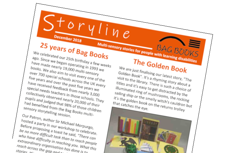 Image of Storyline newsletter cover