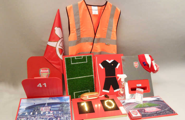 Photograph of the contents of the Arsenal book